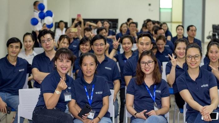 Nhân viên bệnh viện tham dự lễ tổng kết