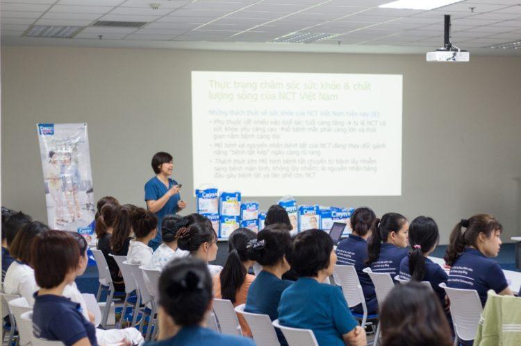 Nhân viên Bệnh viện Quốc tế Becamex tham gia hội thảo