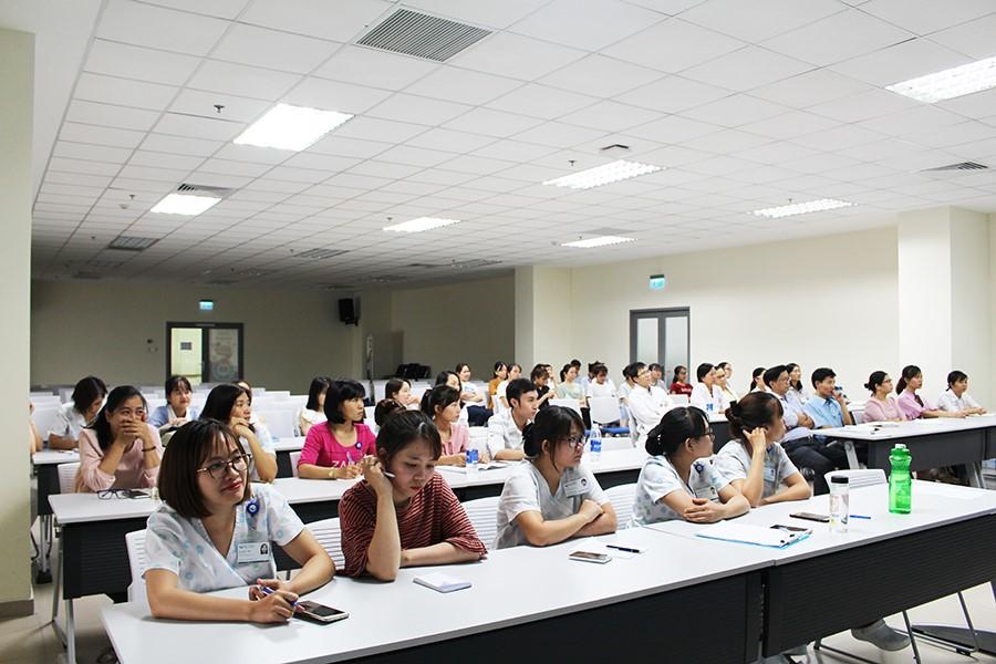 Hình 1. Học viên tham dự tập huấn