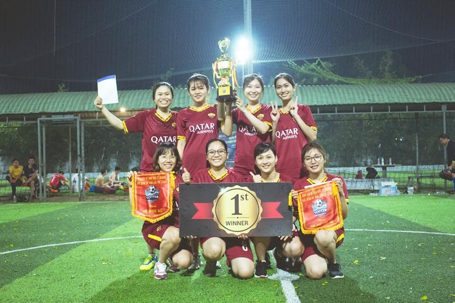 Hình 3. Đội vô địch nữ