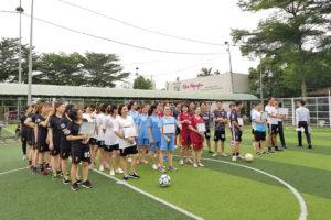 Hình 1. Các đội tham dự Lễ khai mạc