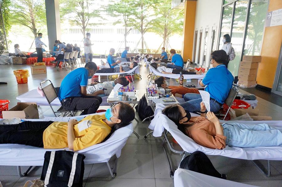 Ngày hội hiến máu tình nguyện 2020
