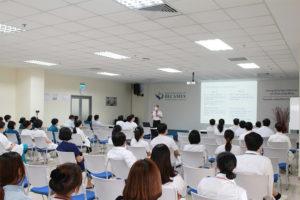 Tập huấn Cập nhật phát hiện và phòng ngừa nhiễm Covid-19